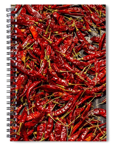 Dry Chilli Spiral Notebook