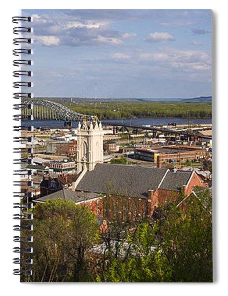 Dubuque Iowa Spiral Notebook