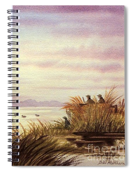 Duck Hunting Companions Spiral Notebook