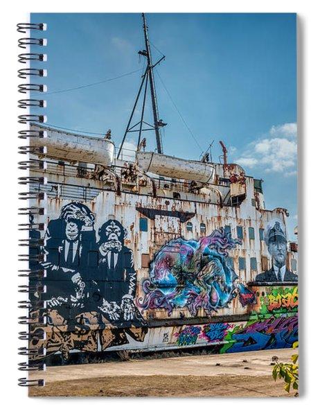 Duke Graffiti  Spiral Notebook