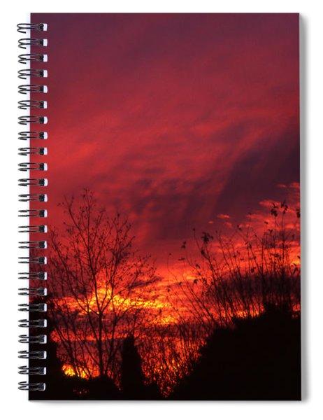 Dundee Sunset Spiral Notebook