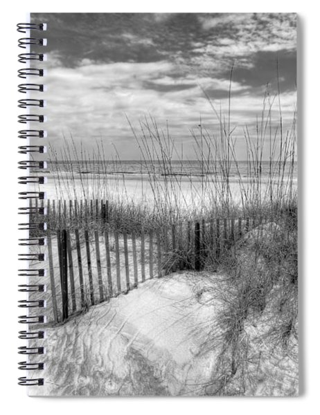 Dune Fences Spiral Notebook