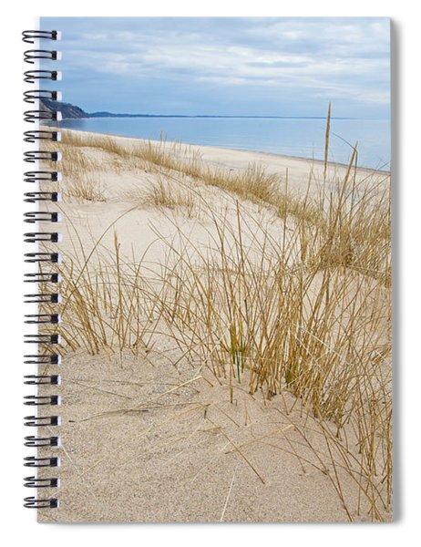 Dune Grass On Lake Michigan Spiral Notebook