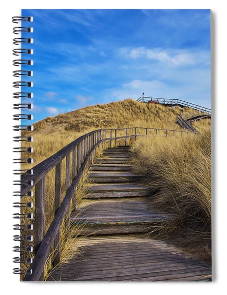 Dune With A View Spiral Notebook