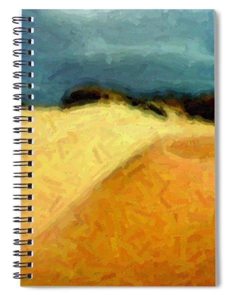 Dunes 1 Spiral Notebook