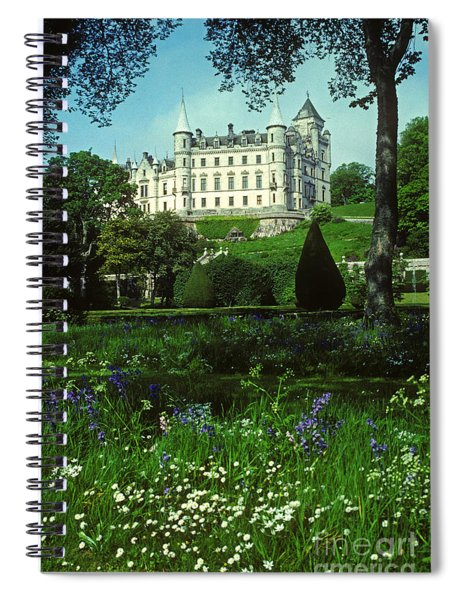 Dunrobin Castle - Scotland Spiral Notebook