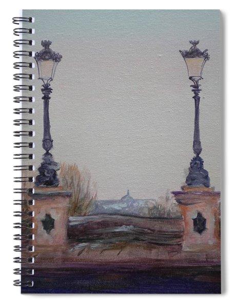 Dusk, 2010 Oil On Canvas Spiral Notebook