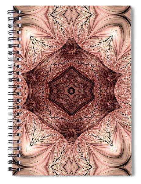 Dusky Engravings Spiral Notebook