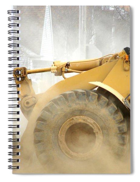 Dust Machine Spiral Notebook