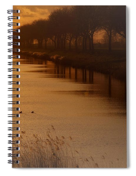 Dutch Landscape Spiral Notebook