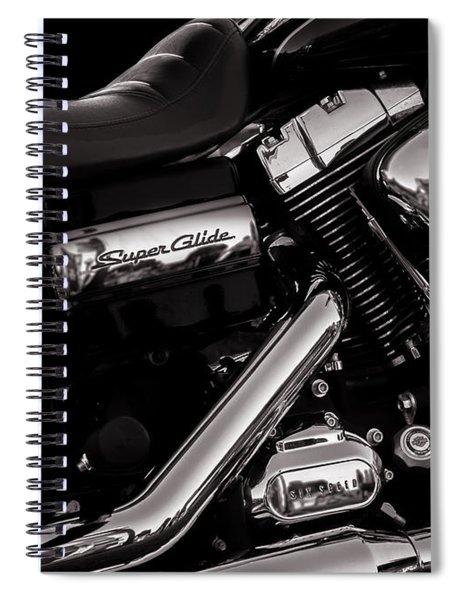 Dyna Super Glide Custom Spiral Notebook