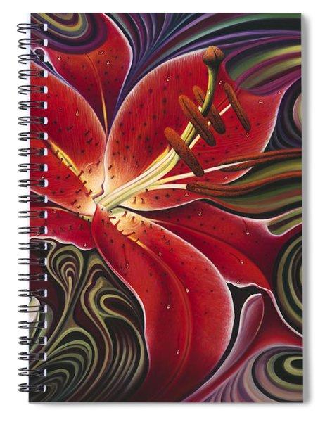 Dynamic Reds Spiral Notebook