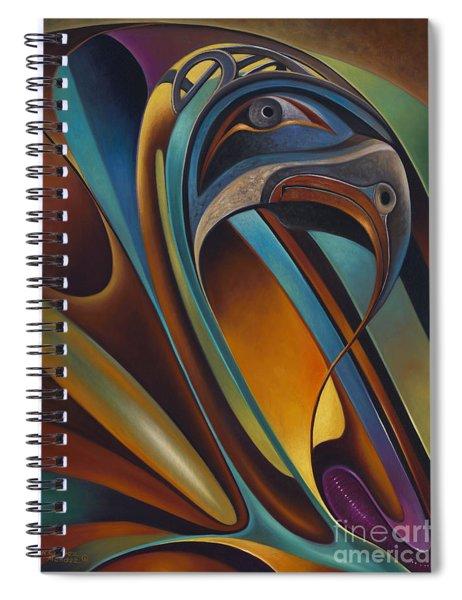 Dynamic Series #17 Spiral Notebook