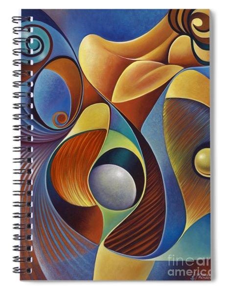 Dynamic Series #22 Spiral Notebook