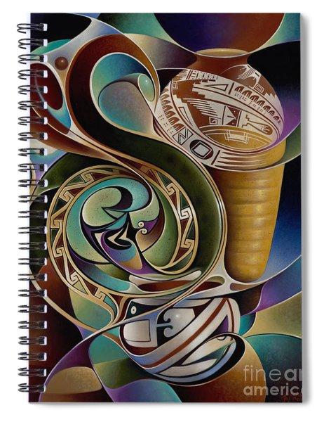 Dynamic Still I Spiral Notebook