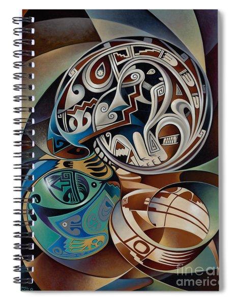 Dynamic Still Il Spiral Notebook