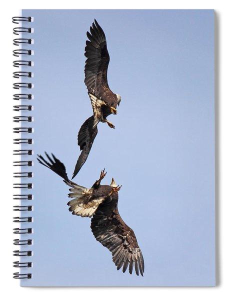 Eagle Ballet Spiral Notebook