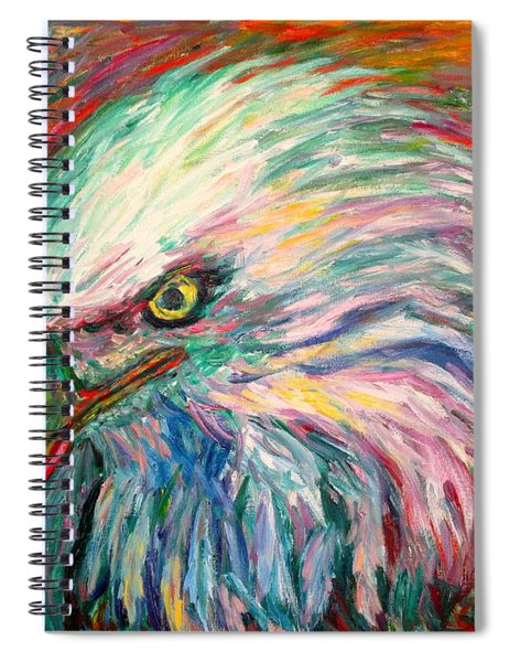 Eagle Fire Spiral Notebook