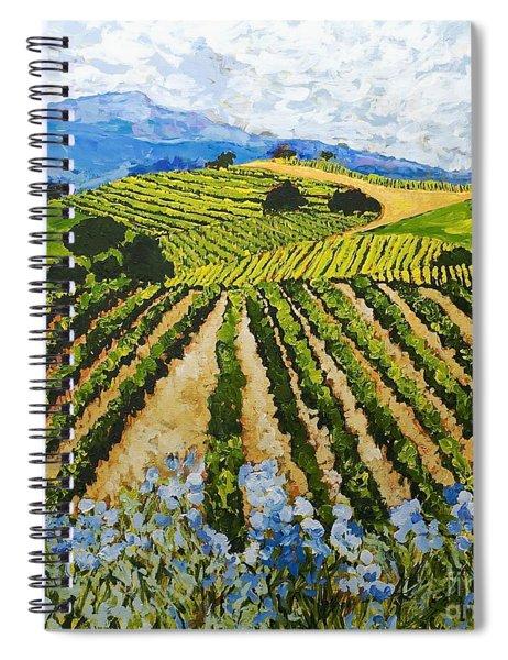 Early Crop Spiral Notebook