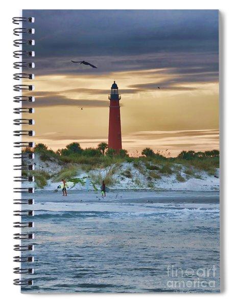 Early Evening Sky Spiral Notebook