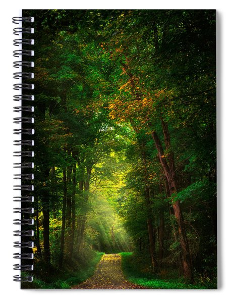 Early  Mist  Spiral Notebook