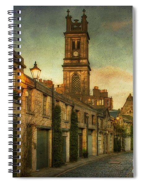 Early Morning Edinburgh Spiral Notebook