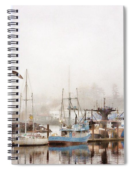 Early Morning Newport Oregon Spiral Notebook