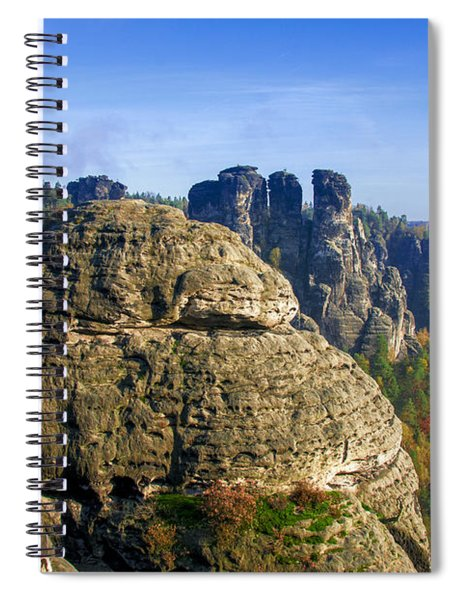 Early Morning On Neurathen Castle Spiral Notebook
