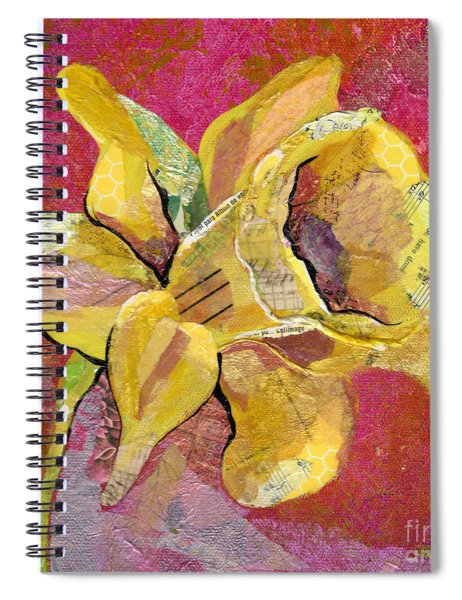 Early Spring I Daffodil Series Spiral Notebook