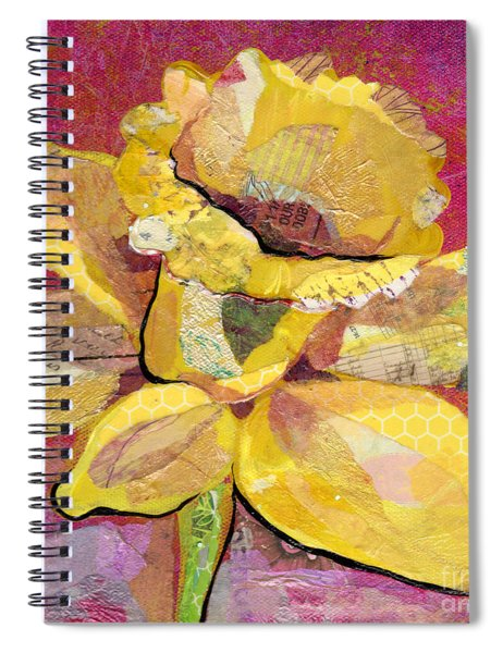 Early Spring IIi  Daffodil Series Spiral Notebook