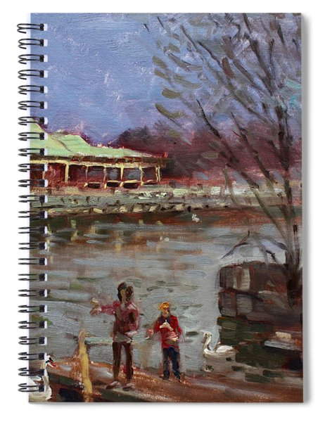 Early Spring In Portcredit Mississauga Spiral Notebook