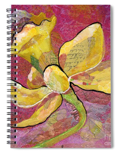 Early Spring Iv Daffodil Series Spiral Notebook