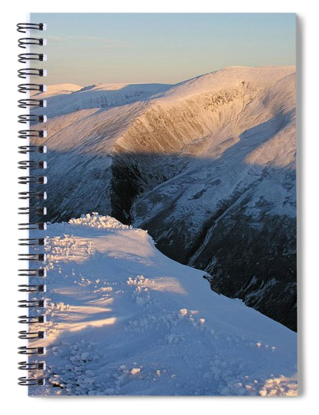 Early Winter Cairngorms Spiral Notebook