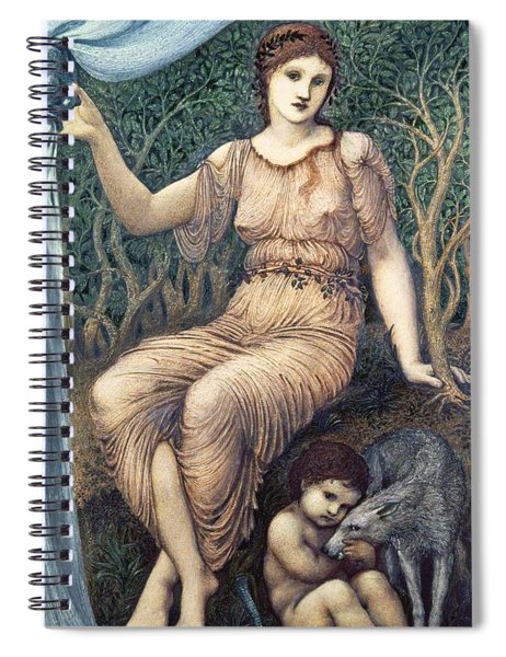 Earth Mother, 1882 Gesso Spiral Notebook