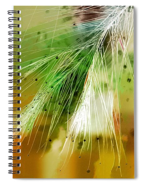 Earth Silk Spiral Notebook