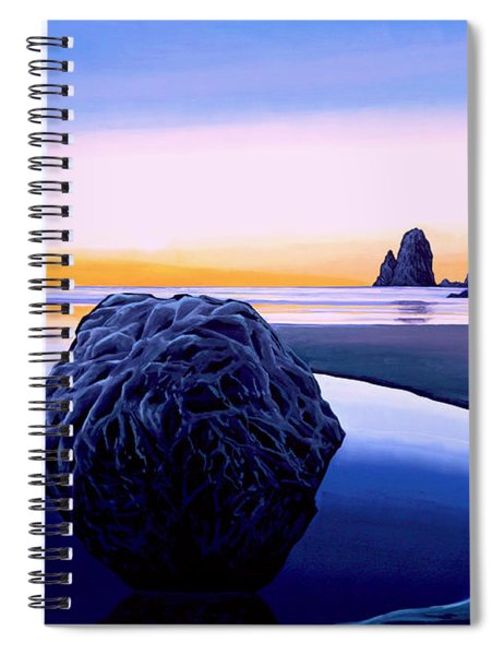 Earth Sunrise Spiral Notebook