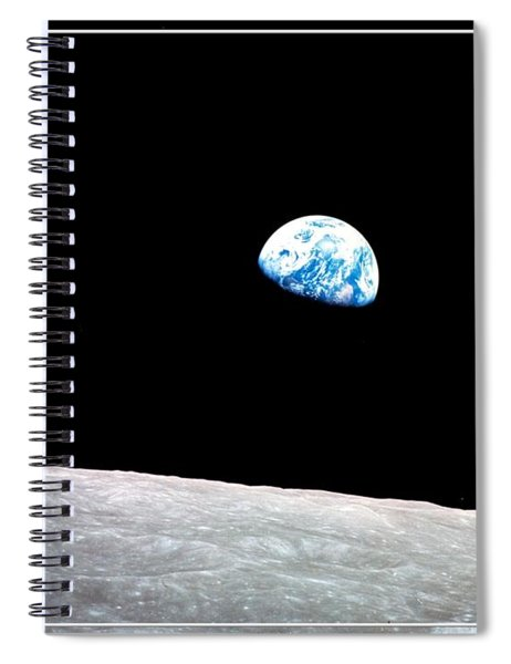 Earthrise Nasa Spiral Notebook