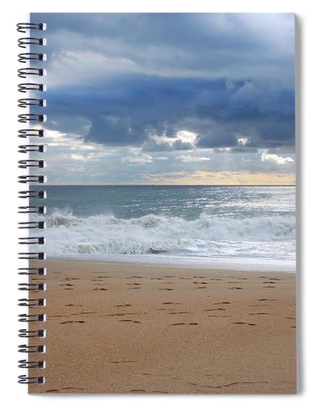 Earth's Layers - Jersey Shore Spiral Notebook