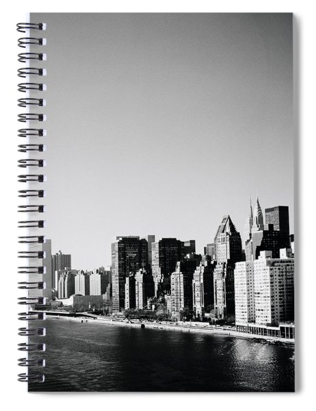 East River New York Spiral Notebook