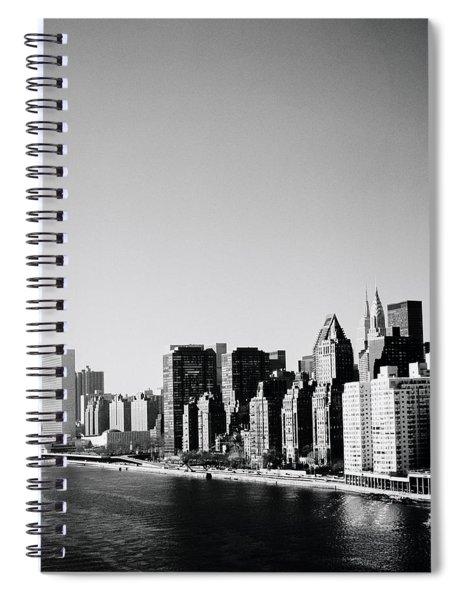 East River New York Spiral Notebook