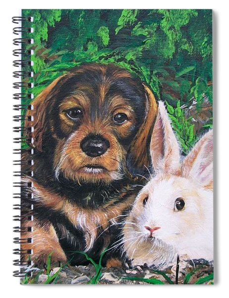 Wonder Of Spring  Spiral Notebook