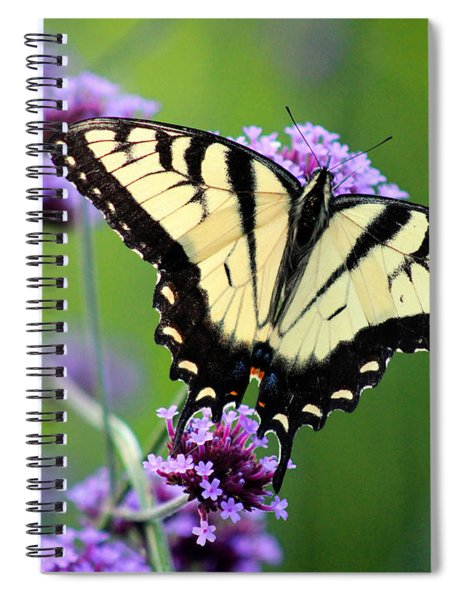 Eastern Tiger Swallowtail Butterfly 2014 Spiral Notebook