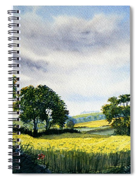Eastfields From Woldgate Spiral Notebook