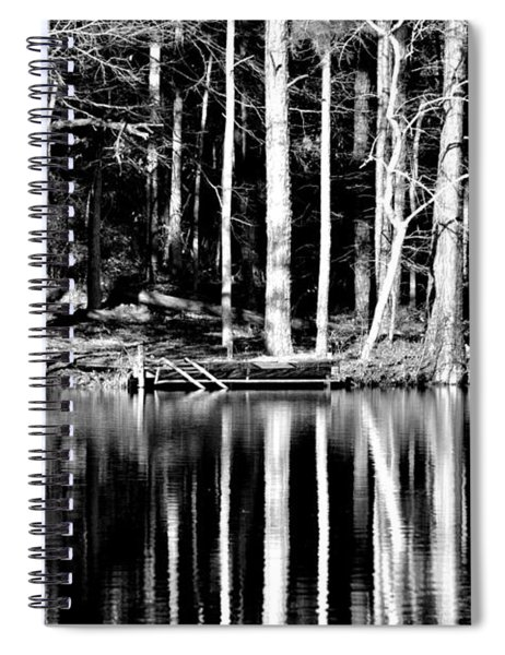 Echoing Trees Spiral Notebook