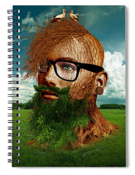 Eco Hipster Spiral Notebook