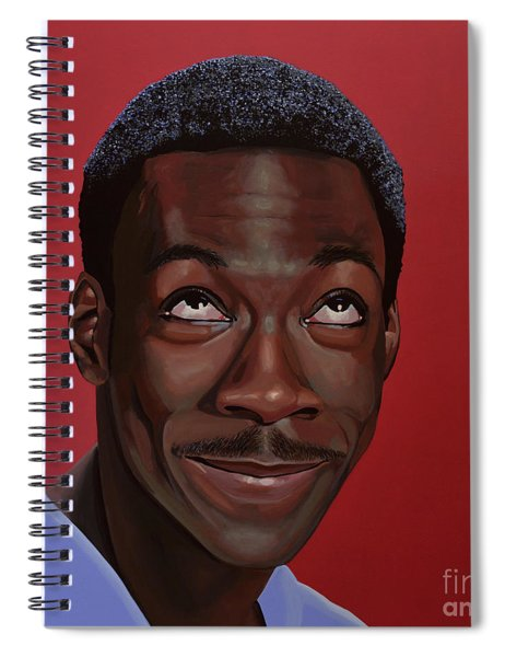 Eddie Murphy Painting Spiral Notebook