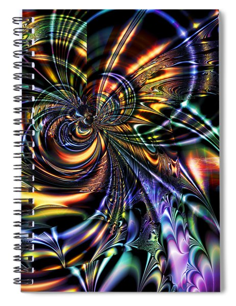 Eddies Spiral Notebook