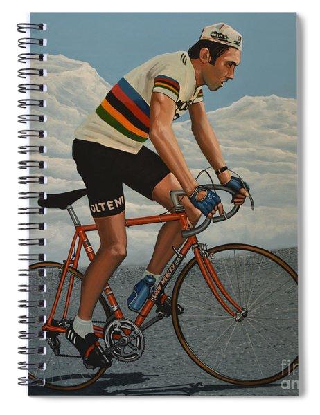 Eddy Merckx Spiral Notebook