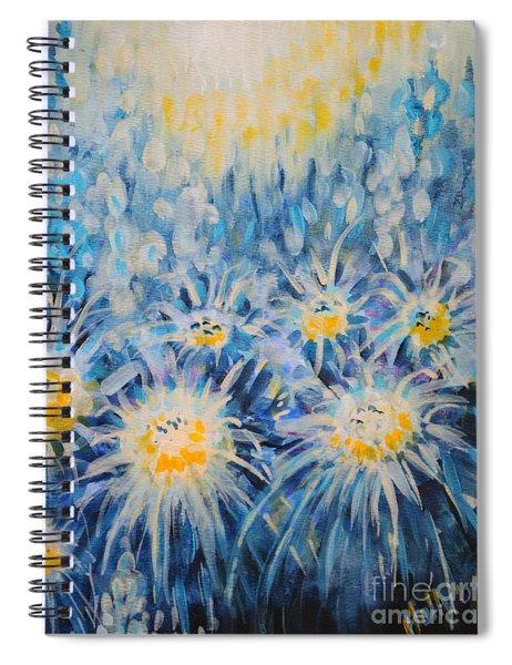 Edentian Garden Spiral Notebook