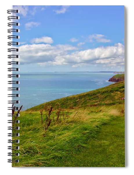 Edge Of The World Spiral Notebook